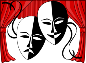 theater clipart theatre masks md